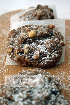 Chocolate Chip Nuss Cookies