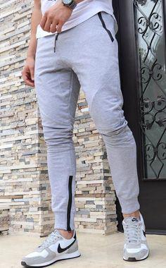 Pantaloni Sport Simpli GRI - Cod: JOG08 - haine barbati Sweatpants, Sports, Collection, Fashion, Hs Sports, Moda, Fashion Styles, Sport, Fashion Illustrations