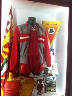 Opening night of the new Liverpool FC Museum at Anfield via This Is Anfield | Includes some neat memorabilia from LFC's Euro Cup with AS Roma