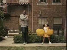 Dad being silly with his little girl  ....This commercial is definitely in my top 5 of favorite commercials.