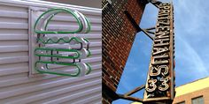 SPRITZENHAUS-STEEL-SIGN Blade Sign, Channel Letters, Sign Design, Signage, Neon Signs, Lettering, Play, Steel, Billboard