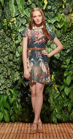 Só na Antix Store você encontra Vestido Jóias de Mônaco Tiras com exclusividade na internet