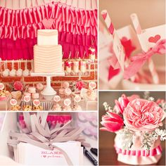 A Pink Ruffles and Ribbon Shower: This ruffle- and ribbon-filled shower thrown for a pastry chef just might take the cake in terms of cuteness. Source: Gabriel Ryan Photographers for Hostess With the Mostess