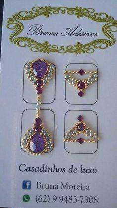 Gem Nails, Diamond Nails, Nail Jewels, Ring Tutorial, Luxury Nails, Nail Tutorials, E Design, Nails Inspiration, Cute Nails