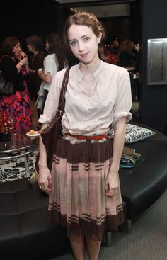 Zoe Kazan - The W Hotel New York - Downtown To Host The Annual Tribeca Film Festival Women Filmmaker Brunch Zoe Kazan Style, Tribeca Film Festival, Hollywood Celebrities, How To Look Pretty, Vintage Fashion, Vintage Style, Celebrity Style, Cute Outfits, Summer Outfits