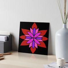 """Lotus Star Design"" Art Board Print by Pultzar   Redbubble"