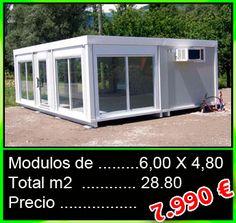 Conjunto modular acristalado - Mobilhomes y Caravanas ocasión Tarragona