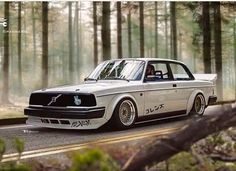 Volvo Wagon, Volvo Cars, Tuner Cars, Jdm Cars, Weird Cars, Cool Cars, Crazy Cars, Volvo 240, Modified Cars