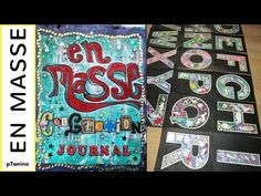 En Masse Collection Journal Glue Book Notebook Set Up - YouTube