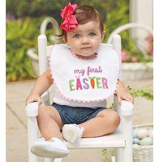 Mudpie First Easter Bib