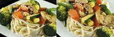 pasta primavera with Chobani instead of heavy cream