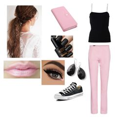 """""""Shopping Outfit"""" by mely2303 ❤ liked on Polyvore featuring T By Alexander Wang, Converse, Jil Sander Navy and Ippolita"""