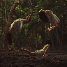 Young photographer Kylie Woon has created a collection of wondrous self-portraits called Surreal-ity. Her images, which are all composites of two or more photographs, show her running and flying in fairytale-like scenes.