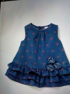 Stylish Dresses For Girls, Frocks For Girls, Kids Frocks, Little Girl Dresses, Baby Frock Pattern, Baby Girl Dress Patterns, Toddler Fashion, Kids Fashion, Onesie Dress