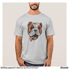 Bulldog apparel t-shirt