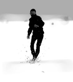 Snow runaway