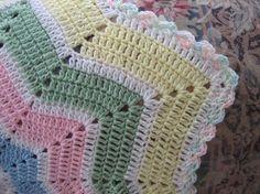 Shooting Star Baby Blanket Crochet Pattern | FaveCrafts.com