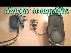 Simple & super amplifier make with mobile charger Electronics Mini Projects, Simple Electronics, Electronics Basics, Electronic Circuit Projects, Spy Video Camera, Pulse Induction Metal Detector, Electrical Circuit Diagram, Speaker Box Design, Speaker Amplifier