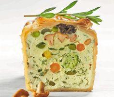 Biscuit de légumes aux herbes fines