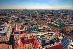 #Vienna Photo taken from the top of the Stephen's Church in Vienna  Photo by Miroslav Petrasko