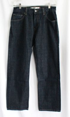 Levis Jeans Mens Sz 30x30 559 Red Tag Dark Wash Denim Straight Leg Relaxed Fit #Levis #Relaxed