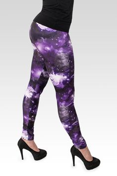 Hey, I found this really awesome Etsy listing at https://www.etsy.com/listing/200306019/galaxy-purple-leggings-pins-women-ladies