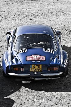 The original #Renault Alpine A110 - One of few #french cars I really dig. _________________________ WWW.PACKAIR.COM