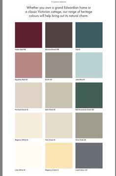 11 best dulux exterior colours images color schemes colour rh pinterest com