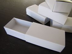 Paper Matchbox-Match Box-Slide Boxes-Perfect for packaging-Jewelry Box-Gift Box. $5.50, via Etsy.