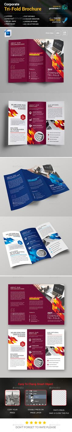 Car Service TriFold Brochure  Cars Brochures And Brochure Template