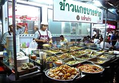 Thai Street Food  Wow this is real real local Thai Food