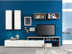 Die Colour Art Wohnwand bietet Ihnen:  Top-Preis ✓ zahlreiche Front- und Korpusfarben ✓ viele Kombinationsmöglichkeiten ✓ made in germany ✓
