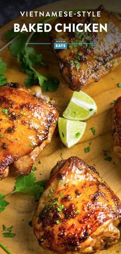 One Quick Vietnamese-Style Marinade, One Easy Baked Chicken Dinner – Kolay yemek Tarifleri Easy Baked Chicken, Baked Chicken Recipes, How To Bake Chicken, Recipe Chicken, Roasted Chicken, Healthy Chicken, Marinated Chicken Thighs, Quick Marinade For Chicken, Chicken Thighs Baked