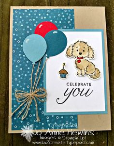 21 Trendy Ideas For Camping With Friends Ideas Stampin Up Stamping Up Cards, Rubber Stamping, Kids Birthday Cards, Bird Cards, Animal Cards, Cards For Friends, Card Sketches, Cute Cards, Homemade Cards