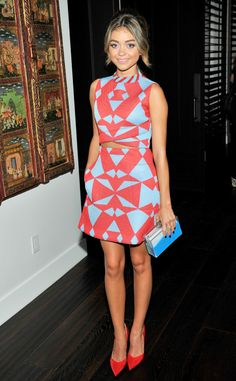 Any Shape or Form from Sarah Hyland's Best Looks   E! Online