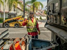 It's all good working on the streets in #LakeForest, image by Susan Liepa #OCPhoto2017 #OrangeCounty #oclife #SoCal #californialiving