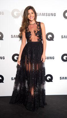 Malena Costa de Charo Ruiz en los premios GQ 2014