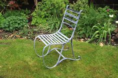 Beautiful English scrolled verdigris garden chair ideal for al fresco dining. Pair with our bstro table. Garden Chairs, Garden Furniture, Outdoor Furniture, Outdoor Decor, Burford Garden Company, Outdoor Tables And Chairs, Outdoor Restaurant, Bistro Chairs, Restaurant Furniture