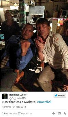 Hannibal Season 2 Finale - behind the scenes