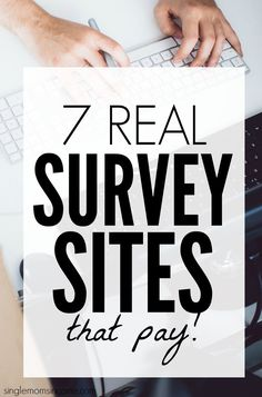 7 Real Survey Sites That Pay Taking surveys allows you to earn a little extra cash while providing flexibility that most long for. Here are seven real survey sites that pay! Make Money Taking Surveys, Surveys That Pay Cash, Online Surveys For Money, Paid Surveys, Earn Money From Home, Make Money Online, How To Make Money, Survey Websites, Survey Sites That Pay