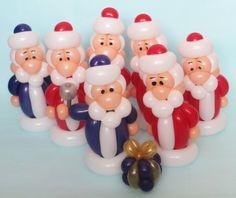 Seven Santas :)