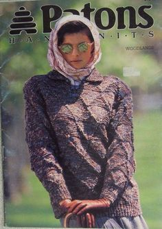 Patons handknits Woodlands LADIES JUMPERS & CARDIGANS leaflet no. 915 sizes 8-18 Helena fashions on ebay categories knitting patterns  http://stores.ebay.com.au/helenafashions