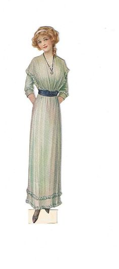 Image result for ladies fashion day dress 1915