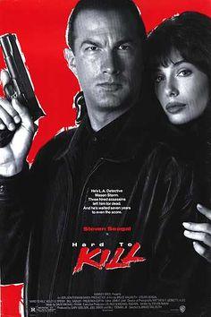 Hard to kill   Hard to Kill movie posters at movie poster warehouse movieposter.com