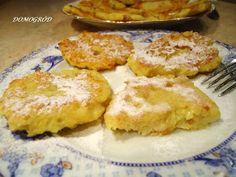placki z jabłek i kaszy manny French Toast, Breakfast, Food, Morning Coffee, Essen, Meals, Yemek, Eten