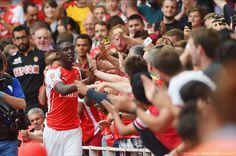 Arsenal 5 - 1 Benfica. Sanogoal time -