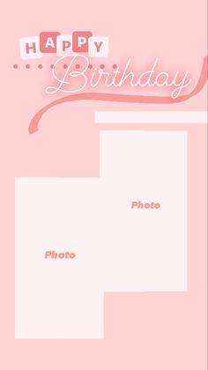 Happy Birthday Template, Happy Birthday Frame, Happy Birthday Posters, Happy Birthday Wallpaper, Happy Birthday Wishes Quotes, Birthday Posts, Birthday Love, Happy Birthday Cards, Birthday Captions Instagram