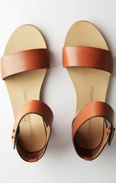 maternity wear: love these leather sandals, go with almost anything