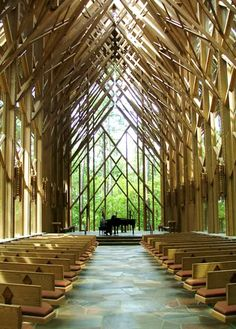 This church is amazing. The Anthony Chapel - Hot Spings Village, Arkasas