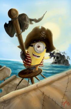 pirate minion